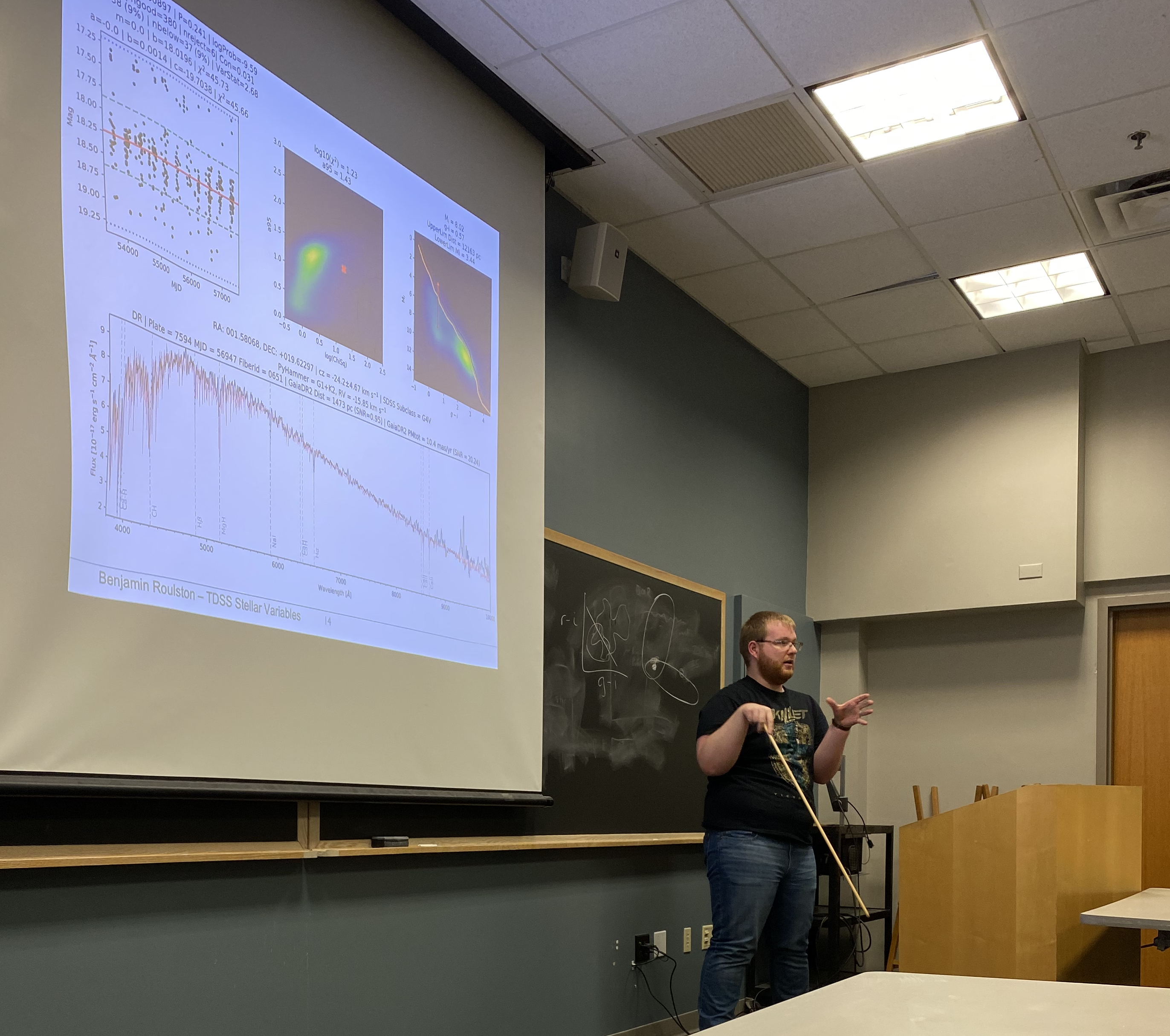 Teaching astronomy students about variable stars